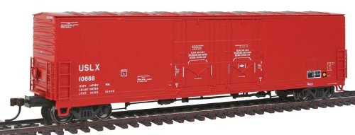 Evans 53' Double Plug-Door Boxcar - US Railway Leasing USLX #10668 (Double Plug Door Boxcar)