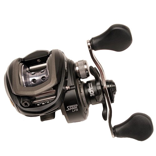 Lew's Fishing Speed Spool LFS Baitcast Reel, Left Hand, 7 oz./120 yd./12 lb./6.8:1
