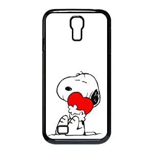 Samsung Galaxy S4 9500 Cell Phone Case Black Charlie Brown and Snoopy Tcga