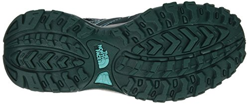 The North Face Jr Hedgehog Hiker Wp, Zapatillas de Senderismo para Niños Verde (NFW)