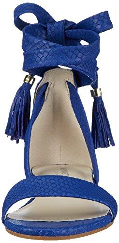 KENNETH COLE Valen, Sandalias con Cuña para Mujer Azul (Electricc Blue 423)