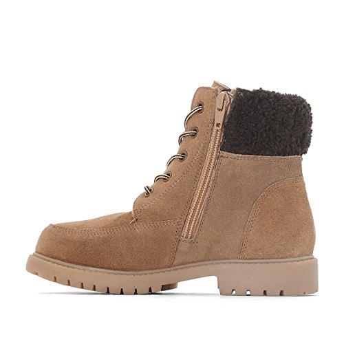 La Redoute Collections Boots, Gefutterter Schaft Gr. 2639 Camel