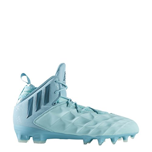 adidas Freak Lax Mid Shoe Men's Lacrosse 12.5 Energy Aqua-Petrol-Light Aqua by adidas