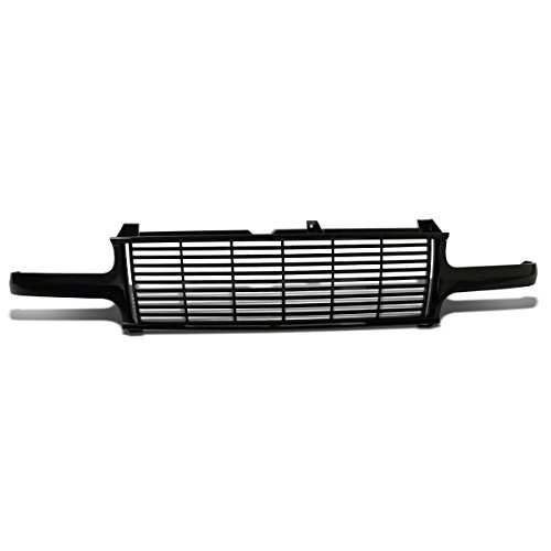 Chevy Silverado/Suburban/Tahoe GMT800 Glossy Black ABS Billet Style Front Bumper Grill Custom Style Grill
