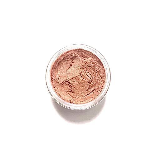 (Ginger - Warm Peach Vegan Mineral Eyeshadow | Warm Peach Eye Color | Apricot Eyeshadow | Cruelty Free | Vegan Eye Shadow | Mineral Makeup | Shimmer Eyeshadow | Natural Makeup)