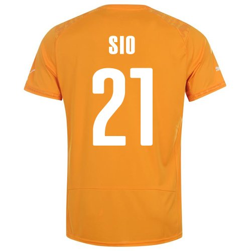 PUMA SIO #21 IVORY COAST HOME JERSEY WORLD CUP 2014 (2XL)