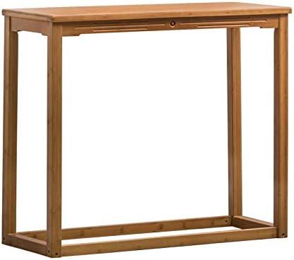 ZAQI Mesa Auxiliar mesas de Centro Mesa Consola de Madera, Mesas de Pedestal rústicas de Mediados de Siglo, Patio en el Pasillo de Entrada, Montaje fácil (Size : 119×40×85cm): Amazon.es: Hogar
