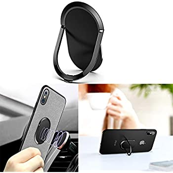 iPhone 7//7 Plus,iPhone Xs iPhone Xs MAX 6.36.30.1cm iPhone X, Phone Ring Holder Universal Phone Ring Stand Fit Well Magnetic Phone Mount Holder 360/° Rotation Compatible iPhone 6//6s Plus