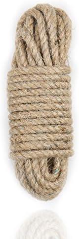 32 Feet Length Durable Natural Fiber Cord Multi-Function Wyenliz Rope