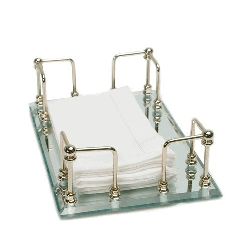 Mirrored Guest Towel Tray - 3
