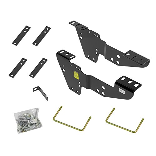 Reese 50064 Fifth Wheel Custom Quick Install Brackets - Select Chevrolet / GMC Trucks (Wheel Bracket)