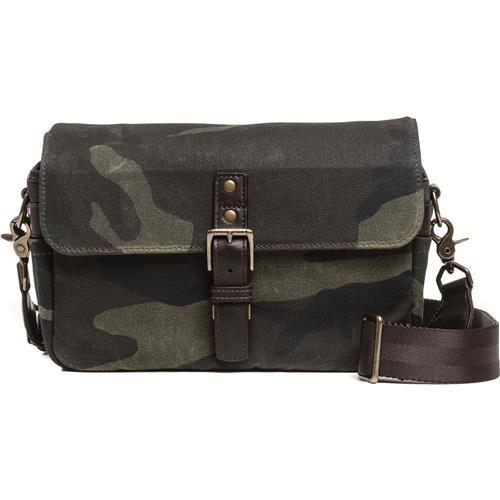 ONA Bowery Camouflage Camera Bag (Waxed Canvas & Leather)