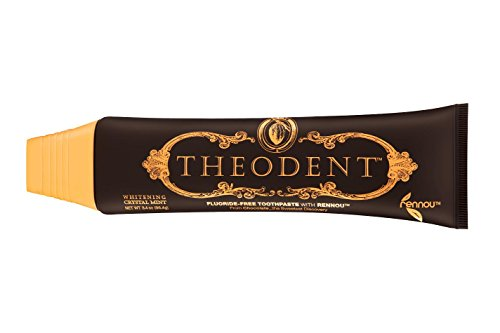 THEODENT CLASSIC with Rennou®: Whitening Crystal Mint - Fluoride-Free Toothpaste Rebuilds, Hardens, and Strengthens Enamel to Reduce Sensitivity by Repairing Enamel (Toothpaste Classic Mint)