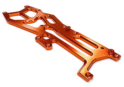 Integy RC Hobby C26184ORANGE Billet Machined Upper Deck for HPI 1/10 Sprint 2 On-Road