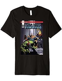 Marvel Thanos The Mad Titan Hulk Enslaved Premium T-Shirt