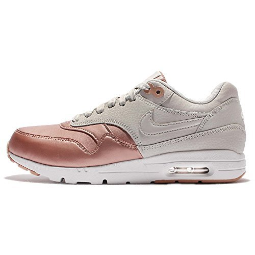 Nike Women's Wmns Air Max 1 Ultra SE, LIGHT BONE/LIGHT BONE-MTLC RED BRONZE, 6 US -  00_650V2D_NI