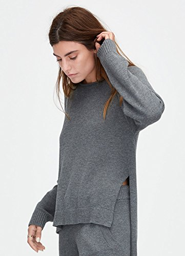 UGG Australia Estela Charcoal Heather S Womens Sweater
