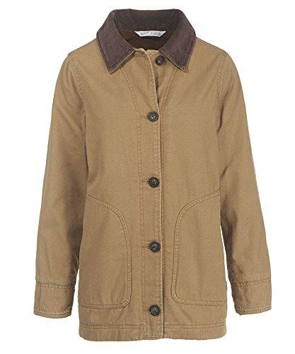 Woolrich Women's Dorrington Barn Jacket, Sediment, Medium (Barnes Wool Top Coat)