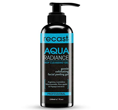 Recast Aqua Radiance Deep Cleansing Gel – Korean Beauty Style Product – Gently removes dead skin cells to reveal instant…