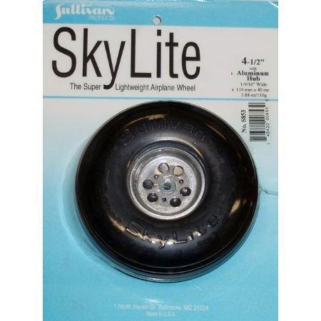 Sullivan Products Sky Wheel w/Alum Hub, 4-1/2