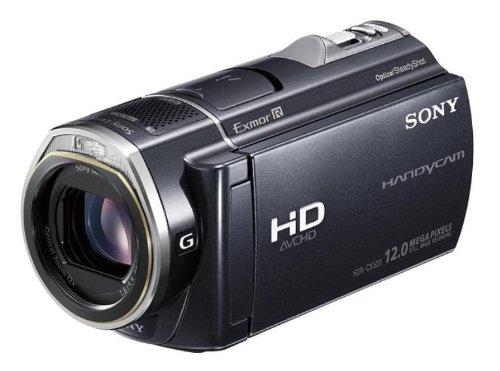 ソニー SONY デジタルHDビデオカメラレコーダー CX520V 内蔵メモリー64GB ブラック HDR-CX520V/B