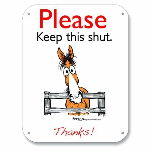 Fergus Stall/Barn Sign Keep ()