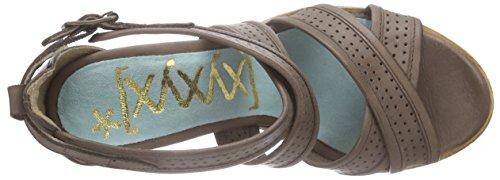 XYXYX Pumps Damen Pumps Braun (Dk Brown)