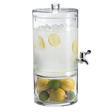 Artland Simplicity 2-Gallon Beverage Dispenser with Lid, 2-Part