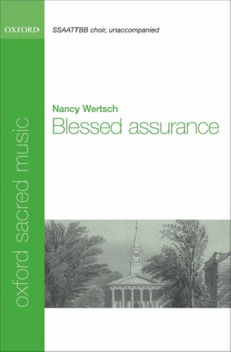 Blessed assurance: Vocal score ebook