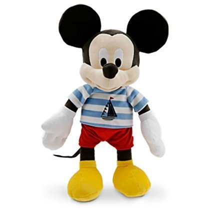 Disney Sailor Mickey Mouse Medium Plush for Baby - 15''