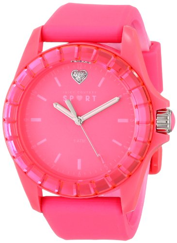 Juicy Couture Women's 1901115 Sport TR90 Mirrored Faceted Bezel Watch