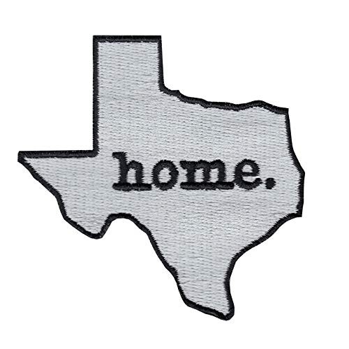 Texas State Home Logo Iron On Embroidered Applique Patch