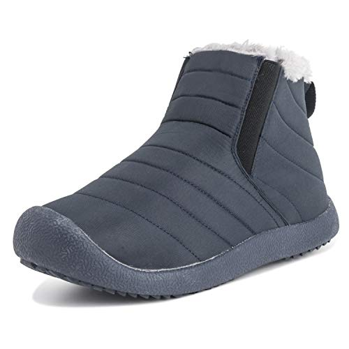 Polar Boot Unisex Adults Luxury Durable Warm Outdoor Winter Walking Faux Fur Shoes - NAV39US AEA0552