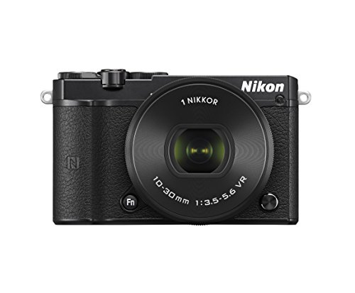 Nikon ミラーレス一眼 Nikon1 J5 標準パワーズームレンズキット ブラック J5HPLKBK