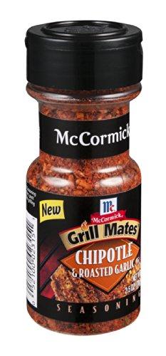 McCormick Grill Mates Chipotle & Roasted Garlic Seasoning, 2.5 OZ (Pack - 12) by McCormick (Image #1)