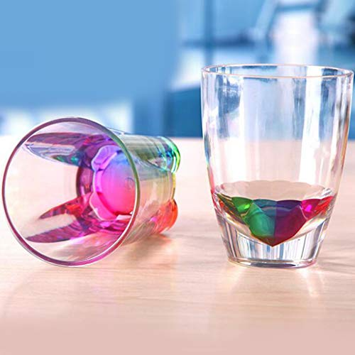 -  AIUSD Clearance , Creative Gifts Novelty Flashing Rainbow Color Beer Cup Glass Cup