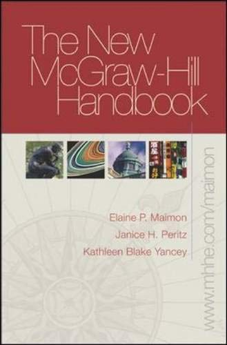 New McGraw-Hill Handbook (hardcover) with Student Access to Catalyst 2.0