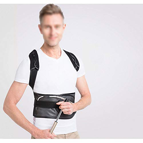 WYNZYHY Medical Belt, Lumbar Disc Lumbar Muscle Strain Male and Female Medical Posture Correction Clothing Hunchback Correction (Color : Inflatable, Size : L) by WYNZYHY (Image #1)