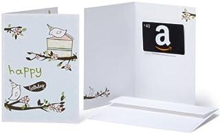 Amazon.com $40 Gift Card in a Greeting Card (Birthday Birds Design) (BT00CTP4MY)   Amazon price tracker / tracking, Amazon price history charts, Amazon price watches, Amazon price drop alerts