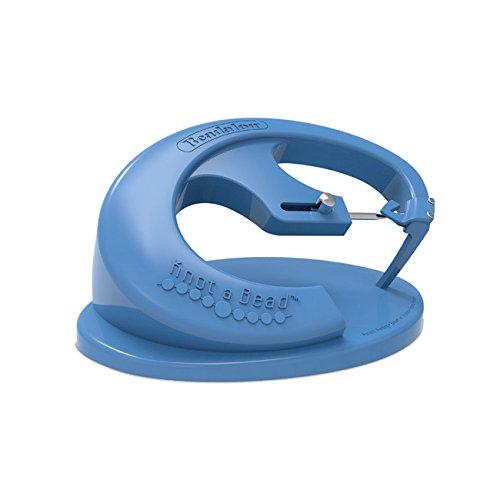 Beadalon Knot-A-Bead Tool, Blue by Beadalon