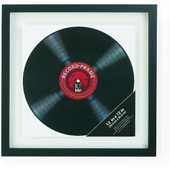 Amazon.com - Umbra Record Album Frame 14-1/2x14-1/2-Inch, Modern ...
