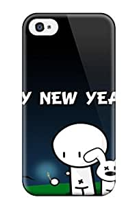 Forever Collectibles New Year Cartoon Hard Snap-For Ipod Touch 5 Case Cover
