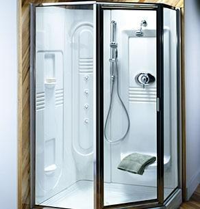Jacuzzi Builders Shower Module - (Jacuzzi Shower Enclosures)