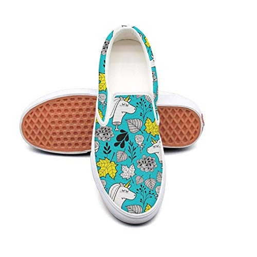 SOFIE MARTIN The Number of Horns on a Unicorn Man's Plimsolls Low Top Lightweight Air Permeable -