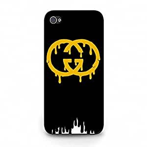 Creative Iphone 5C Back Cover,Luxury Gucci Logo Iphone Case Appealing TPU/PC Series