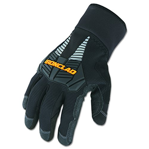 Ironclad CCG2-05-XL, Cold Condition Gloves, Black, X-Large