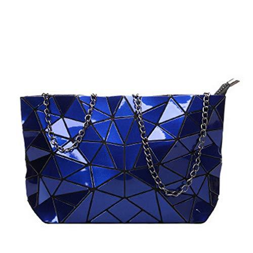 única Blue para Mujer Chain Bolso Hombro Beige BLACKHEI White al Talla gAvFng8WI