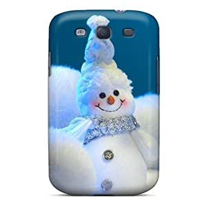 New Cute Funny Christmas Light Snow Man Case Cover/ Galaxy S3 Case Cover