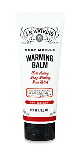 J.R. Watkins Muscle Warming Balm, 3.3 Ounce (Tension Relief Balm)