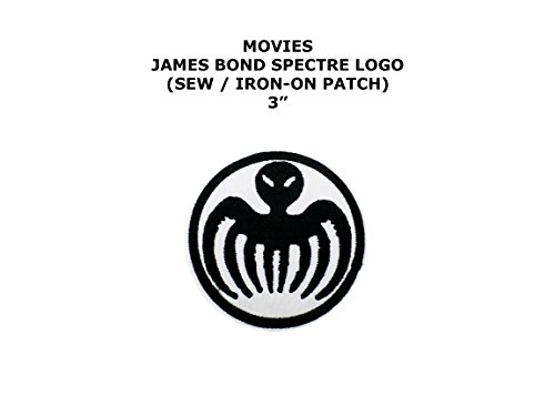James Bond Costume Diy (James Bond Spectre 007 Movie DIY Embroidered Sew or Iron-on Applique Patch Outlander Gear)